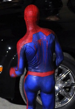The Amazing Spider Booty Starring Andrew Garfield The