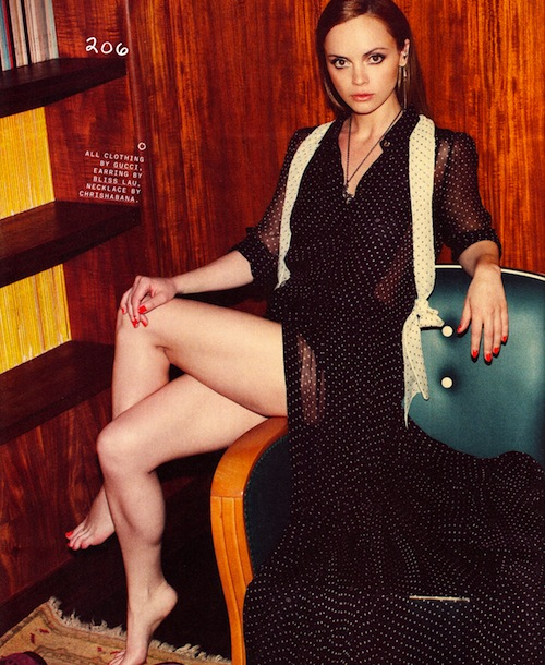 Christina Ricci and Nina Dobrev in Nylon Magazine – The ...