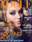 Adele, for Vogue