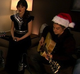 She And Him Christmas.She Him S Christmas Record The Twist Gossip