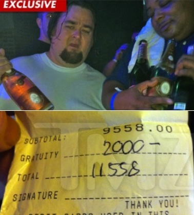 (Fourth Edition) » pawn stars chumlee bday, spends 11k on champagne
