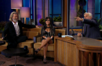 Snooki on Jay Leno, with Jeff Bridges