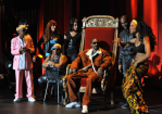 "Snoop Dogg With the ""Bad Girls Of Comedy"" for Showtime"