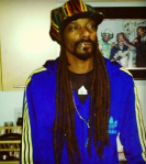 Snoop Dogg's Rasta look