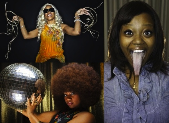 2012 World Records For Longest Nails Afro And Tongue