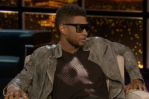 Usher, on Chelsea Lately, September 5th