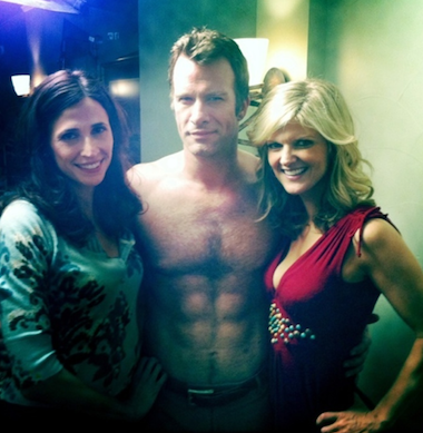 Arden Myrin, Michaela Watkins and Thomas Jane