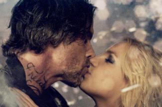 "Britney Spears ""Criminal"" video still kiss Jason Trawick"