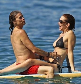 Steven Tyler Scissoring With His Daughter I Mean Girlfriend Erin Brady