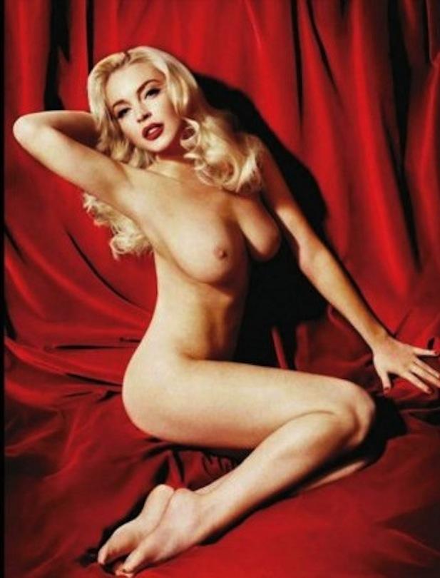 Lindsay Lohan Nude Photos & Videos - Celeb Jihad