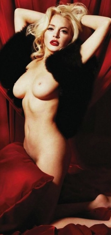 uncensored lindsay lohan nude pics