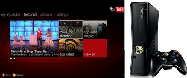 Watch Youtube On Xbox Live