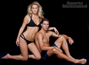 Bar Refaeli Rafael Nadal Sports Illustrated Swimsuit Issue Winter 2012 2