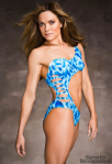 Natalie Coughlin body paint Sports Illustrated Swimsuit Issue Winter 2012