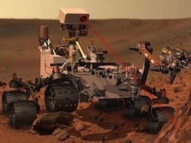 mars rover landing balloons - photo #23