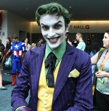 the joker purple suit cosplay comic con 2012 � the twist