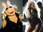 Miss Piggy = Christina Aguilera