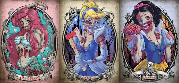 Zombie Disney Princess The Twist Gossip