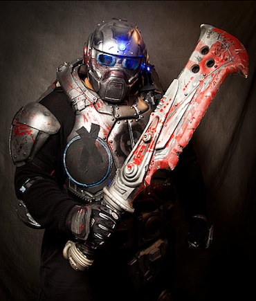 gears of war how to get zombie carmine