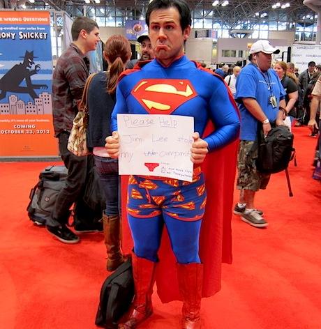 Jim Lee Stole Superman's