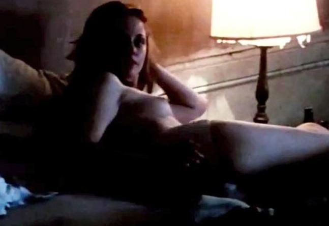 breasts Kristen stewart