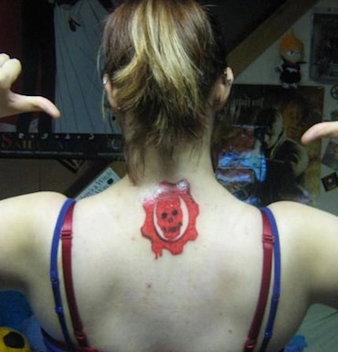 A Lot Of People Have Gears Of War Tattoos The Twist Gossip
