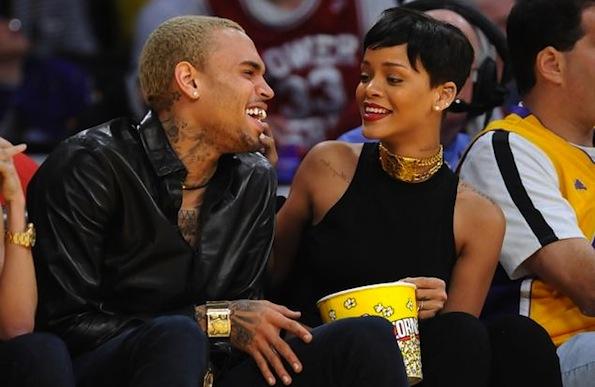 Chris Brown Rihanna Staples Center
