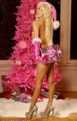 Courtney Stodden Christmas 2012