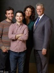 David Krumholtz, Samm Levine, Amy Aquino, and Sam McMurray. f&g