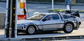 DeLorean replica