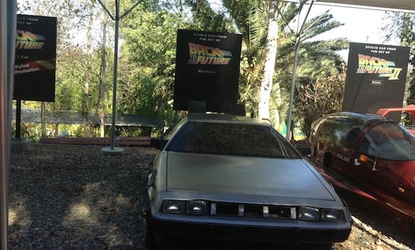 DeLorean Studio Car Universal Studios