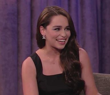 Emilia Clarke brunette