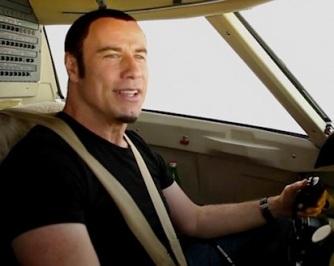 John Travolta airplane Christmas