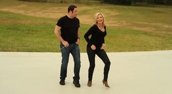 John Travolta Square dancing