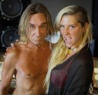 Kesha Iggy Pop dirty Love