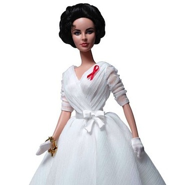 limited edition Liz Taylor Barbie