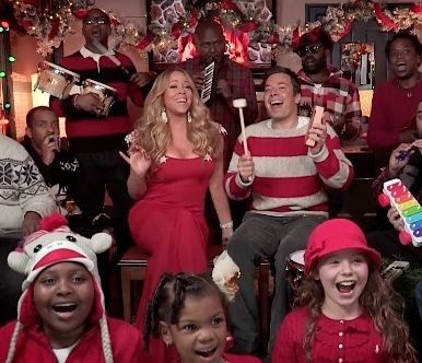 Mariah Carey Jimmy Fallon Christmas