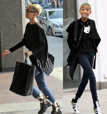 Miley Cyrus Willow Smith