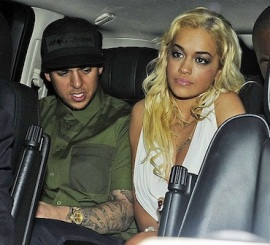 Rob Kardashian Rita Ora car