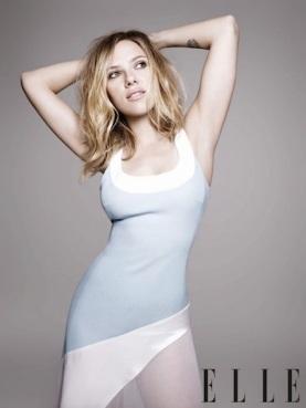 Scarlett Johansson armpits