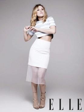 Scarlett Johansson Elle UK 2013
