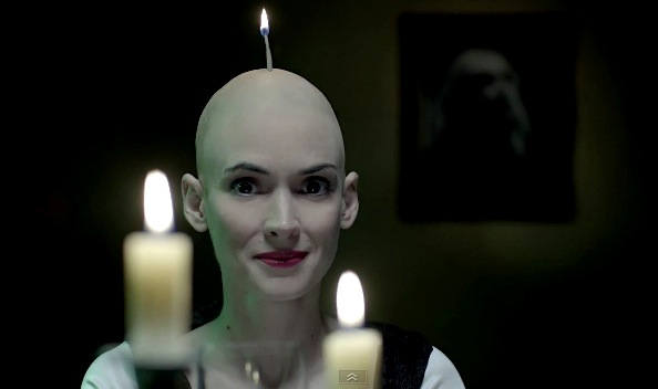 Winona Ryder bald