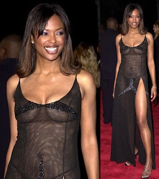 Aisha Tyler see through dress 1