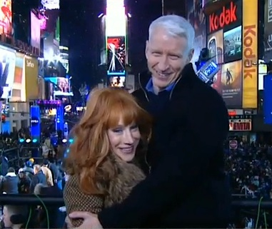Anderson Cooper Kathy Griffin New Years 2012