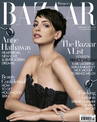 Anne Hathaway Harper's Bazaar UK