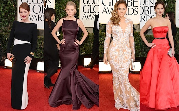 Best Dressed Golden globes 2013