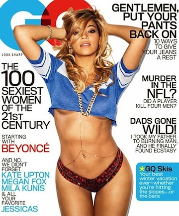 Beyonce gq cover 2013