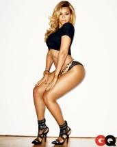 Beyonce heels and thong