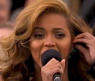 Beyonce Obama Inauguration