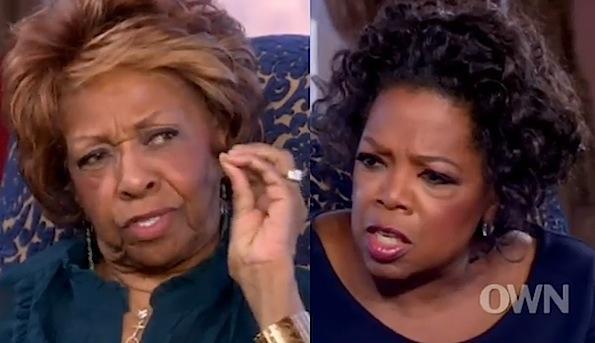 Cissy Houston Oprah